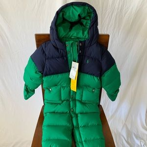 Ralph Lauren toddler snow suit. Size 18M